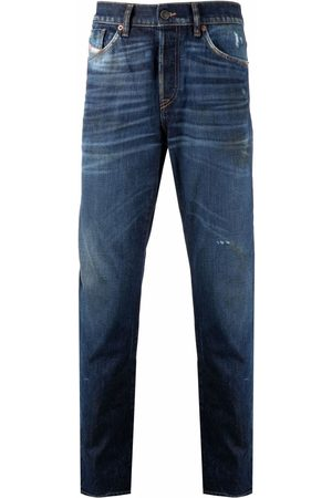Diesel D-Fining bleached stain jeans