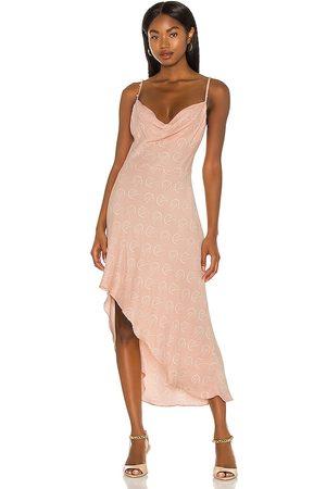 Camila Coelho Otavia Slip Dress in Blush.
