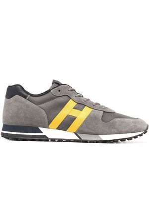 Hogan Men Sneakers - H383 low-top sneakers - Grey