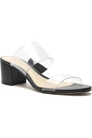 Schutz Women Heeled Sandals - Women's Victorie Mid-Heel Slide Sandals