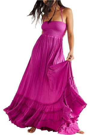 Free People Women's Endless Summer By Extratropical Smocked Maxi Dress