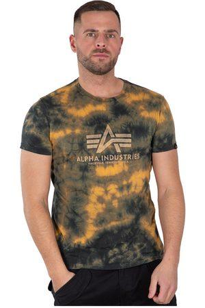 Alpha Industries Basic Batik Short Sleeve T-shirt M Brown