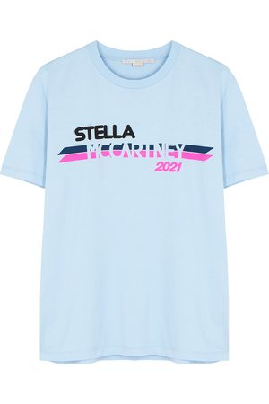 Stella McCartney Women T-shirts - Logo-print cotton T-shirt