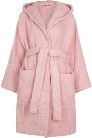 Tekla Unisex hooded terry cotton robe