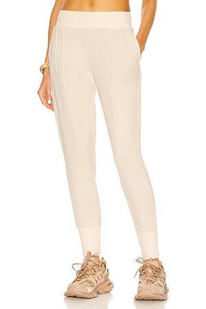 Varley Women Sweatpants - Amberley Sweatpant in Light Grey