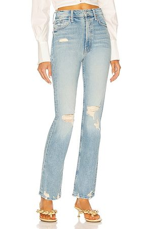Mother Women High Waisted - High Waisted Rider Skimp in Blue