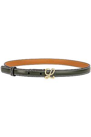 Loewe L Buckle Belt in Army