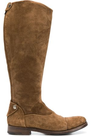 ALBERTO FASCIANI Women Cowboy Boots - Western style boots - Neutrals