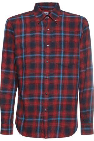 Aspesi Check Cotton Shirt