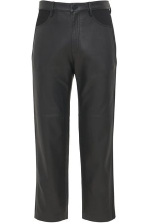 DION LEE Leather Trousers