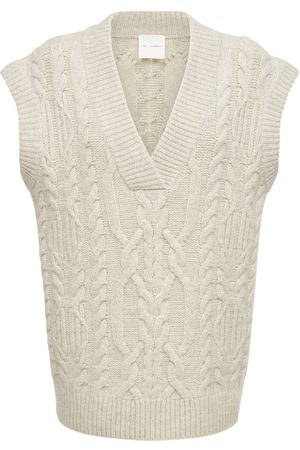 THE GARMENT Canada Wool Cable Knit Vest