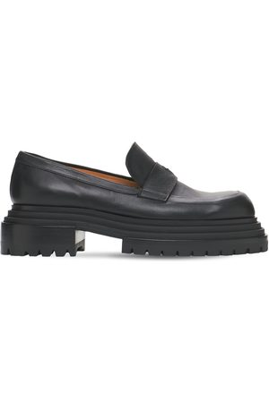 Paciotti 60mm Leather Loafers