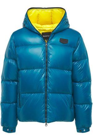 Duvetica Men Jackets - Auva Hooded Full Zip Nylon Down Jacket