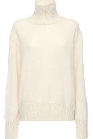 AG Cashmere Knit Turtleneck Sweater