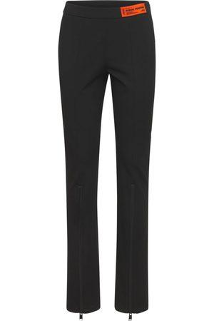 Heron Preston Women Stretch Pants - Stretch Tech Blend Gabardine Pants