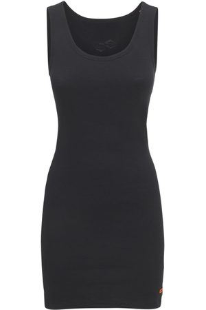 Heron Preston Women Casual Dresses - Diamond Logo Cotton Jersey Mini Dress