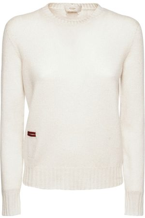 Agnona Women Sweatshirts - Cashmere Knit Crewneck Sweater
