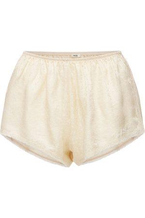 LOVE Stories Women Shorts - Apollo Silk&viscose Blend Shorts