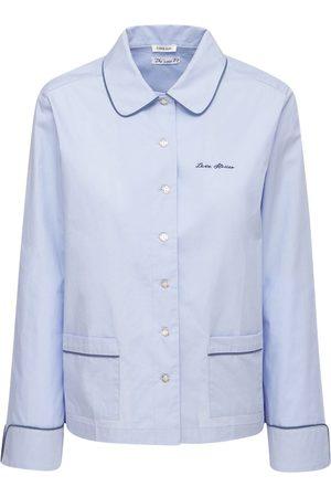 LOVE Stories Women Pajamas - Joe Pajama Cotton Poplin Shirt
