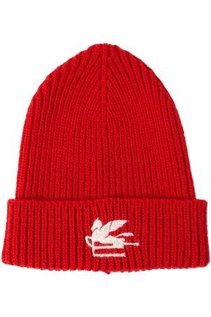 Etro Wool Knit Beanie W/ Embroidered Logo