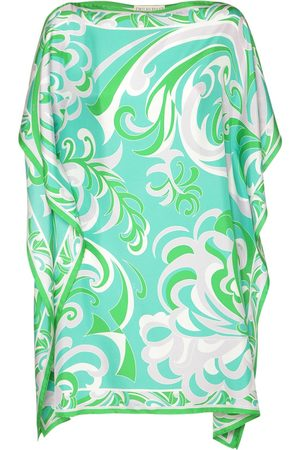 Emilio Pucci Silk Twill Printed Mini Dress