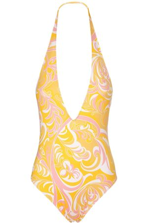 Emilio Pucci Sustainable Printed One Piece Swimsuit
