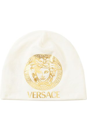 VERSACE Medusa Print Jersey Hat