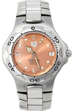 Tag Heuer Salmon Stainless Steel Kirium WL5114.BA0701 Men's Wristwatch 38 mm