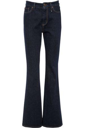 Max Mara Women Flares - Cotton Denim Flared Jeans