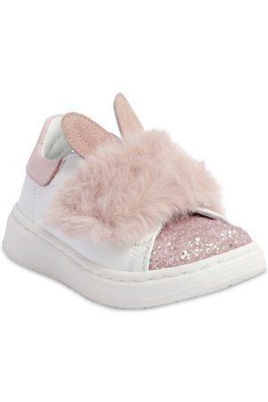 MONNALISA Leather Sneakers