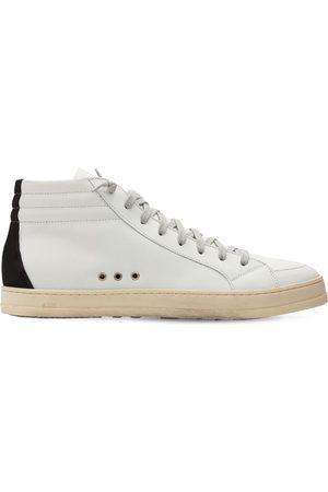 P448 Skate Leather Hi Top Sneakers