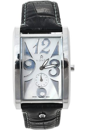 Aigner Mother of Pearl Stainless Steel Modena Nudo A16100 Unisex Wristwatch 30 mm