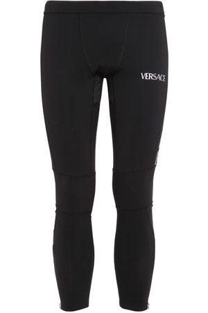 VERSACE Training Leggings W/reflective Details