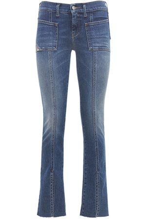 Diesel Slandy Bell Flared Mid Rise Denim Jeans