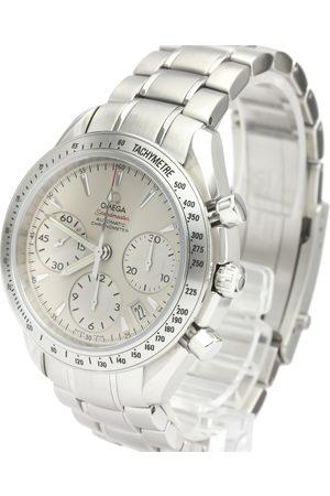 Omega Stainless Steel Speedmaster Date Automatic 323.10.40.40.02.001 Men's Wristwatch 40 MM