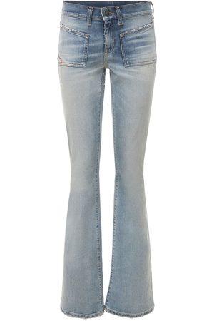 Diesel Ebbey High Rise Boot Cut Flared Jeans