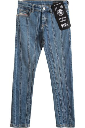 Diesel Washed Stretch Cotton Jeans