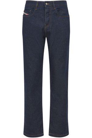 Diesel D-viker Straight Brut Cotton Denim Jeans