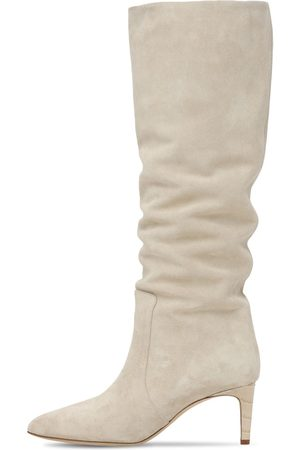 PARIS TEXAS 60mm Slouchy Suede Tall Boots