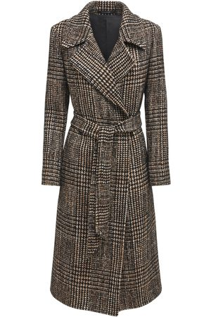 Tagliatore 0205 Molly Prince Of Wales Wool Blend Coat