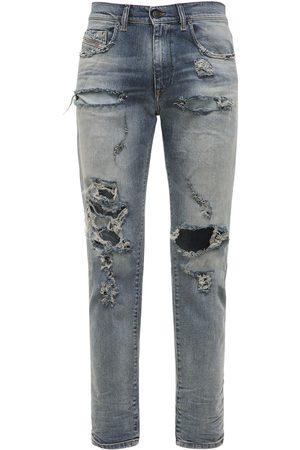 Diesel D-strukt Slim Distressed Denim Jeans