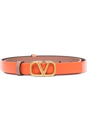 VALENTINO GARAVANI Women Belts - VLogo leather belt