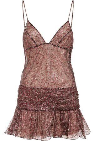 Dsquared2 Tulle Sleeveless Mini Dress