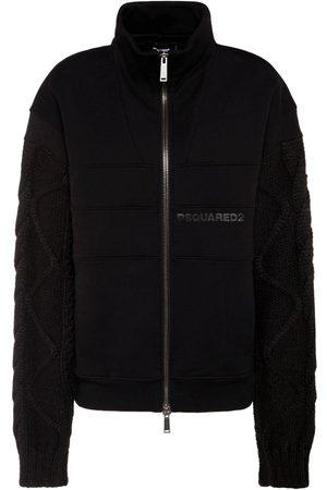 Dsquared2 Brushed Cotton Fleece Sweatshirt