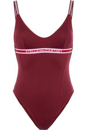 Stella McCartney Women Swimsuits - Woman Jacquard-trimmed Swimsuit Merlot Size S