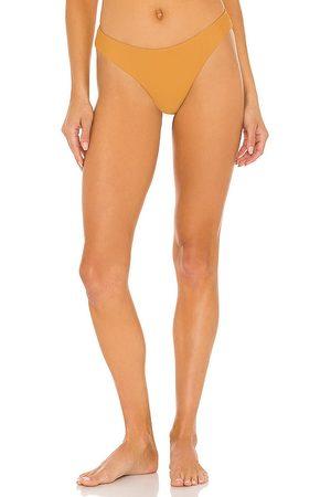 superdown Bella Bikini Bottom in Tan.