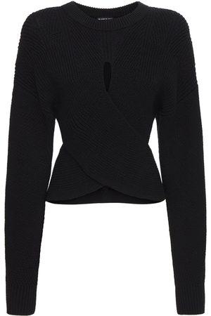 Diesel Rhody Wool Blend Sweater W/cut Outs