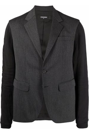 Dsquared2 Jersey-sleeve blazer - Grey