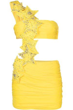 Dsquared2 Women Party Dresses - Star-motif cut-out mini dress