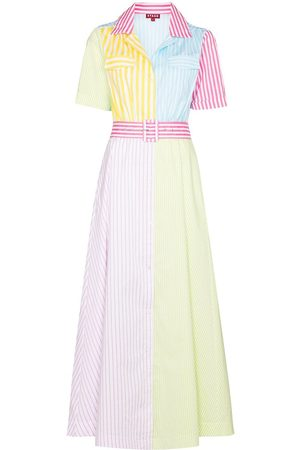 Staud Millie stripe-print maxi dress